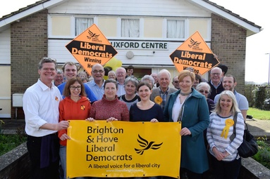 B&H Lib Dems at Uckfield Action Day 11th March 2017