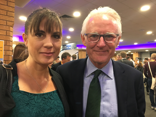 Beatrice Bass and Norman Lamb MP (Beatrice Bass)