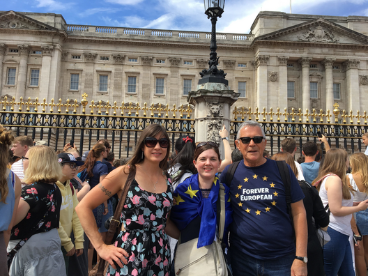 Brighton and Hove Lib Dems At Buckingham Palace 23-08-18