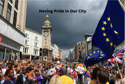 Pride 2017 (Brighton) - Manifesto Text Imposed