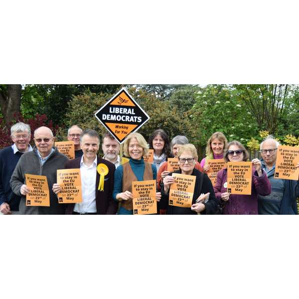 B&H Lib Dems campaign in Euro elections