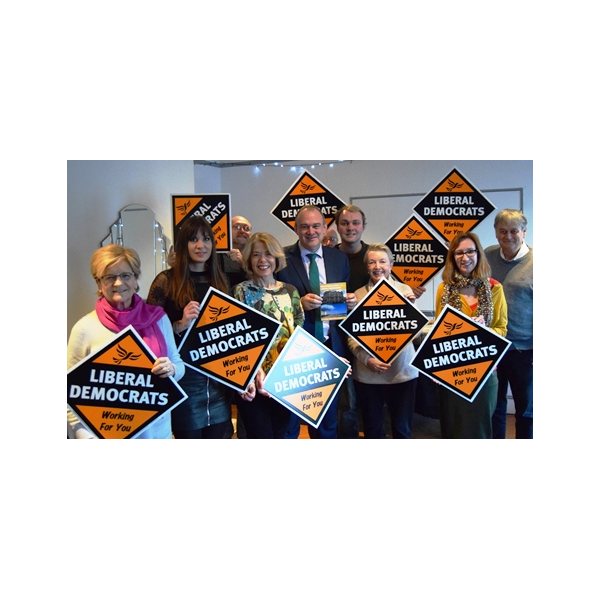 Ed Davey launches local Brighton & Hove manifesto 2019