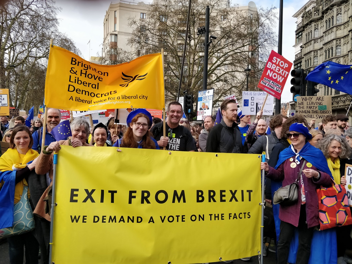 Stop Brexit march in London 23rd March 2019