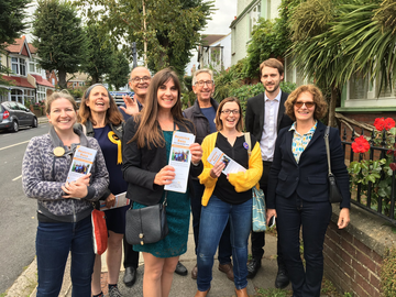 Hove canvassing GE 2019